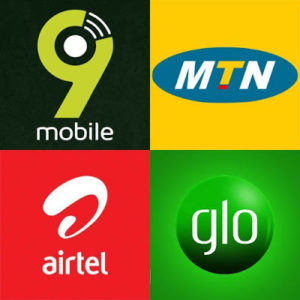 MTN, Airtel and Glo 10 GB data plans