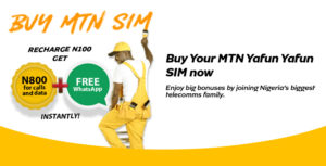 MTN YafunYafun SIM Offer - MTN Call Plans