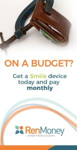Smile device financing