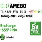 Glo amebo 5x bonus