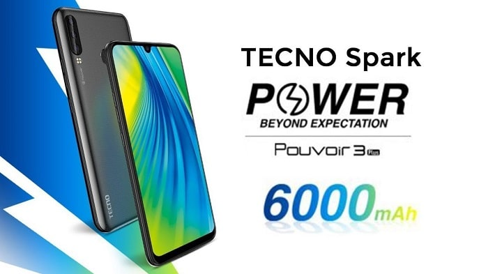 Tecno Spark Power design