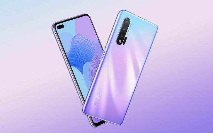 Huawei Nova 6, 6 5G