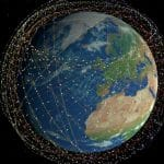 Starlink satellites illustration