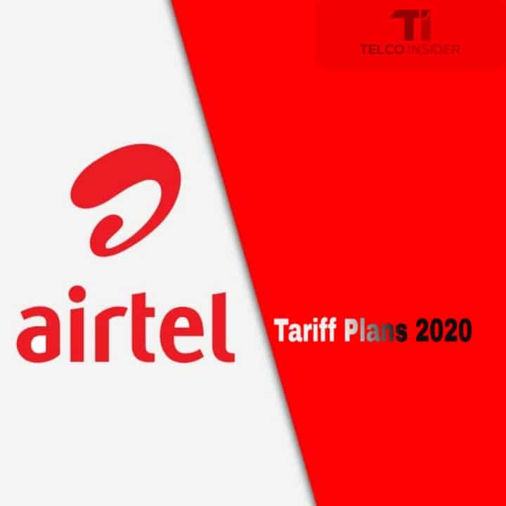 Airtel Tariff plans 2020