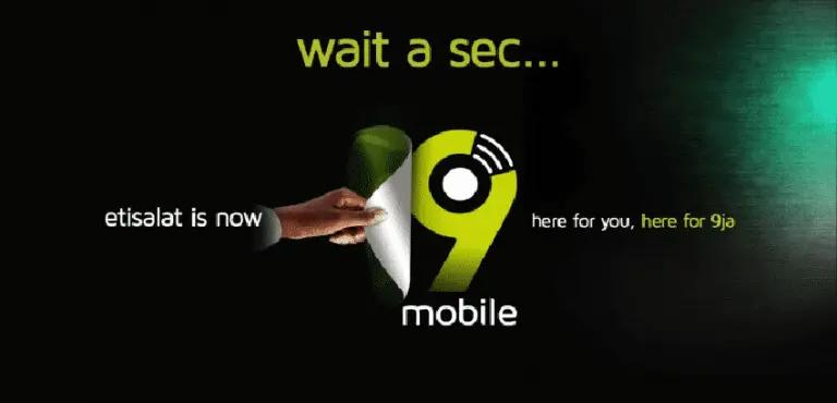 Etisalat now 9mobile