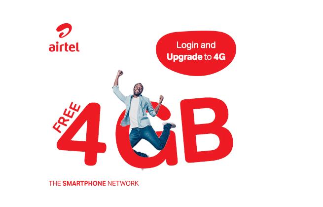 Airtel 4G free data