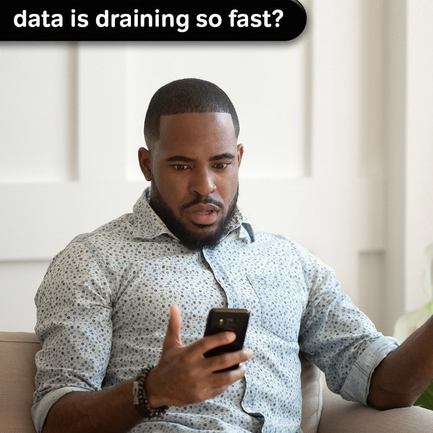 Data exhaustion
