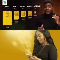 MTN eSIM feature