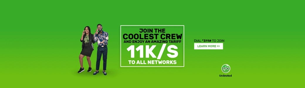 glo 11k/s tariff plan in details