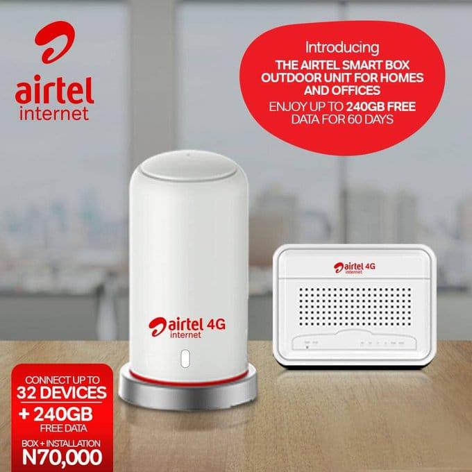 Airtel ODU smartbox