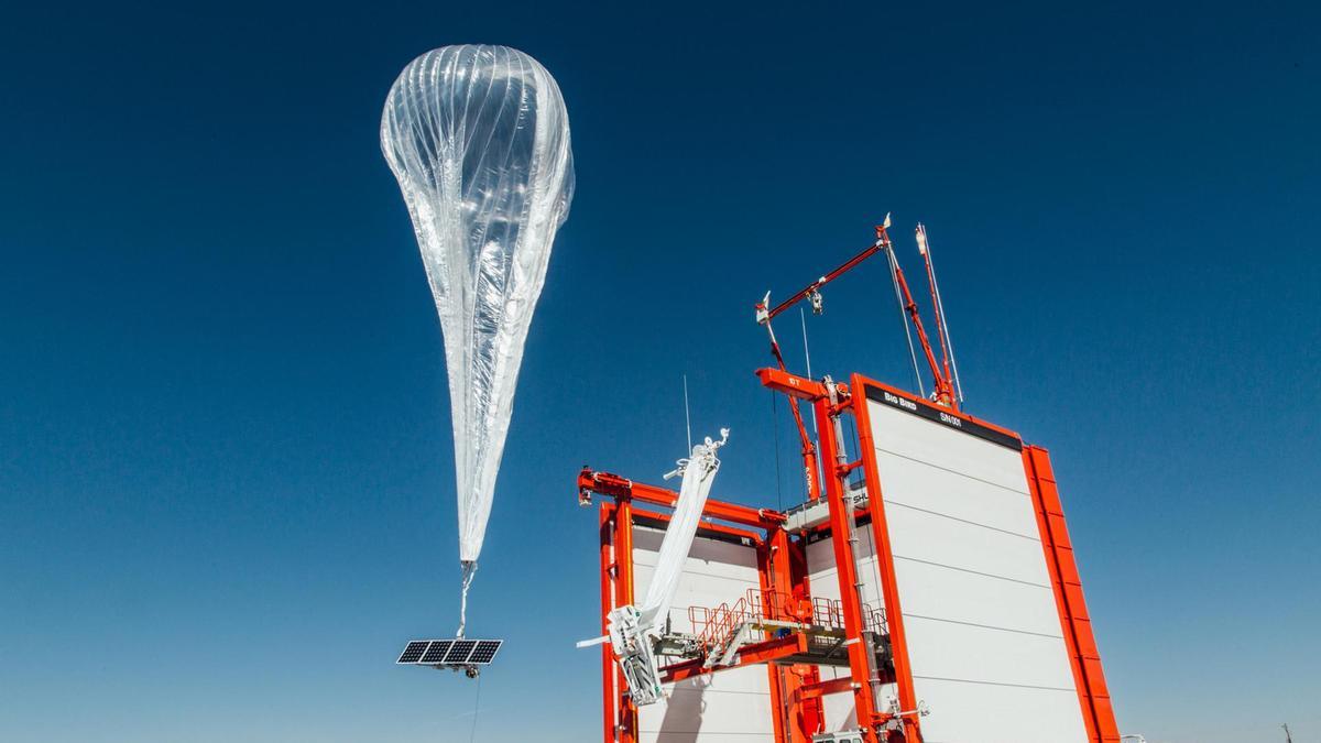 Balloon powered 4G