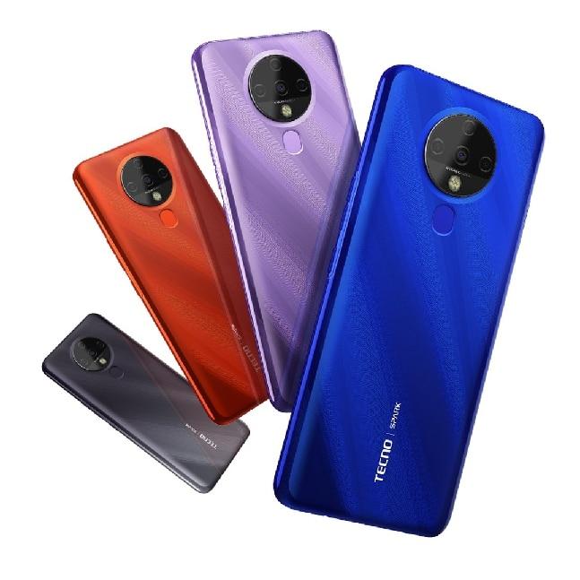 Tecno spark 6 smartphone