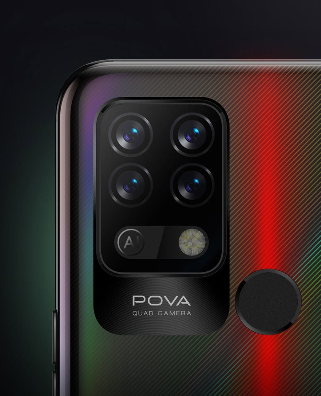 Tecno Pova rear camera