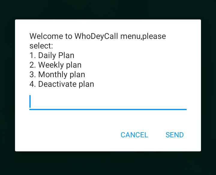 MTN WhoDeyCall details